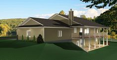 Ranch Style Bungalow with Walkout Basement: A well laid out home with everything that a country home owner would want.