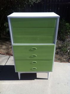 Los Angeles: MID CENTURY Modern HIGH BOY DRESSER $350 - http://furnishlyst.com/listings/31390