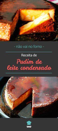 Aprenda a fazer esta delícia passo a passo! #pudim #leitecondensado #receita #receitacaseira #receitafacil #pudimgelado