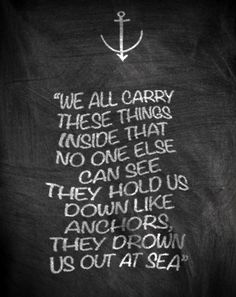 Possibly next tattoo with som anchors  Bring Me The Horizon - Chelsea Smile