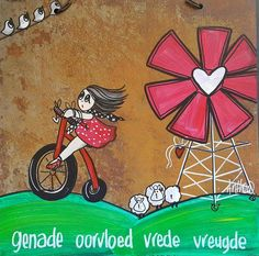 Genade, oorvloed, vrede & vreugde... - deur Anthea Art __[AntheaKlopper/FB] #Afrikaans #windpomp Sign Quotes, Qoutes, South African Decor, Afrikaanse Quotes, Painting Quotes, Diy Art Projects, Cute Animal Drawings, Pallet Art, Wedding Quotes