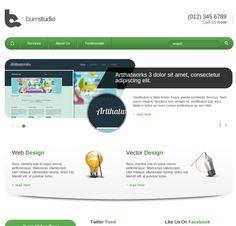50 Templates HTML5 Fantásticos E Grátis | WebMaster.pt