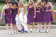 Converse wedding shoes!! Yes please!! The most comfortable wedding shoes ever.