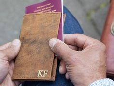 The leather passport holder is a classic passport cover that is made to travel. Personalise this leather passport holder; it makes a great travel inspired gift.