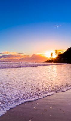 Burleigh Heads Sunrise, Australia.