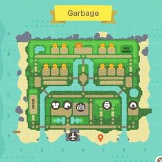 Animals Crossing, Animal Crossing Funny, Animal Crossing Guide, Animal Crossing Villagers, Animal Crossing Pocket Camp, Island Theme, Island Map, Map Design, Layout Design