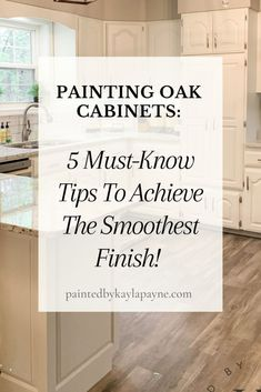 Rio Vista, Painting Oak Cabinets, Do It Yourself Inspiration, Oak Kitchen Cabinets, Gloss Paint, Home Improvement Projects, Wood Species, House Painting, Solid Oak
