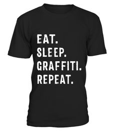 "# Eat Sleep Graffiti Repeat Spray Can Art Graffiti T Shirt .  Special Offer, not available in shops      Comes in a variety of styles and colours      Buy yours now before it is too late!      Secured payment via Visa / Mastercard / Amex / PayPal      How to place an order            Choose the model from the drop-down menu      Click on ""Buy it now""      Choose the size and the quantity      Add your delivery address and bank details      And that's it!      Tags: A cool and hip graffiti t…"