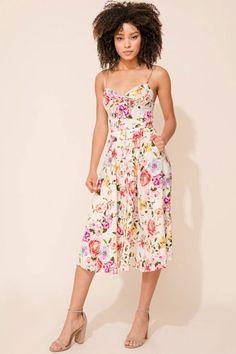 9cc2072ac3c PRETTY WOMAN SILK DRESS - PETAL PUSHERS by Yumi Kim