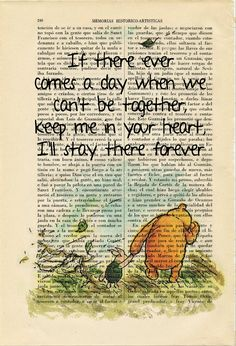 Winnie the Pooh Piglet If There Ever Art Print by ThePurpleHamster