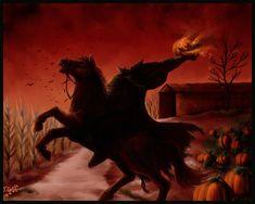 H Halloween HeadlessHorseman by Destinyfall