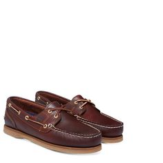 Timberland - Classic Amherst 2-Eye Boat Shoe Donna