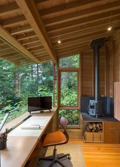 Home Office Design, House Design, Office Designs, Studio Design, Studio Art, Tiny Studio, House Studio, Trendy Home, Maine House