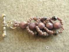 With all my heart ...: Flat Spiral Bracelet - tutorial... In Polish
