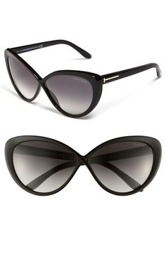 Dying for these sunnies!  Tom Ford Retro Sunglasses available at Nordstrom