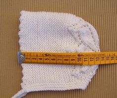 tutorial para hacer capota o gorrito de bebé con doble hoja
