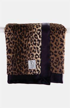 Infant Little Giraffe Leopard Print Blanket