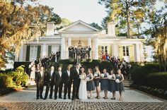 I am loving the southern charm that has been popping up on my desk lately. Weddings like this one where you can practically see the smiles, feel the warmth and laughter, and feel the sweet Southern sun. Mira Photographs captured