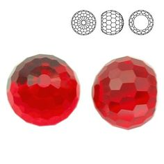 4869 Ball 6mm Light Siam CAVZ  Dimensions: 6,0 mm Colour: Light Siam CAVZ 1 package = 1 piece