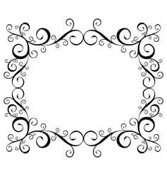 vector frames ornamental - Buscar con Google