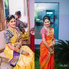 happy bride designer work maggamwork zardosi work elbow slves contrast setting rajwada style bombay tailoring order booking started whts app us on 7799944116 21 December 2016