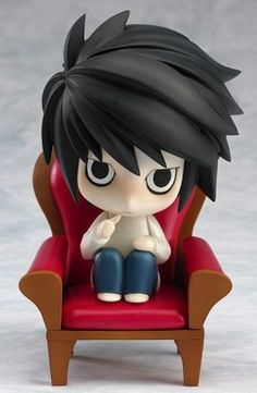 Death Note - L - Nendoroid - 017 (Good Smile Company) :D AHHH so adorable