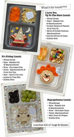 Love the lunches Michelle makes for her daughter :):):)