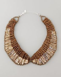 Beaded Collar Necklace by Nakamol at Neiman Marcus.