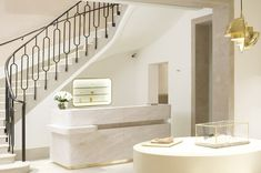 CHLOÉ PARIS: A Dreamy Shop Design By Joseph Dirand  |   staircase