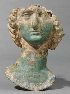 Head of Julia Domna, AD 193-217Sculpture, StatueRoman, 2nd-3rd century AD  Roman period, Middle Imperial, 98-235 AD   Creation Place:   Syria