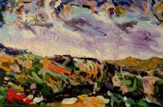 ARTFINDER: Les Alpilles/La Provence by Pierre-Yves Beltran - Acrylic on canvas.2016