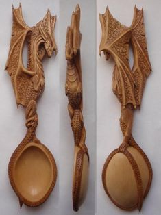 Victor Martynyuk – Year of the Dragon – birch, Toning, oil, waxing., Length – 290 mm Source by marmaroshka Spoon Carving Tools, Dremel Wood Carving, Bone Carving, Wooden Spoon Carving, Spoon Art, Wood Spoon, Welsh Love Spoons, Carved Spoons, Wood Creations