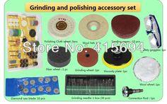 Additional accessory set for jade polishing tool,Jade Table grinding machine,Desktop mini grinder,Mini polishing machine.