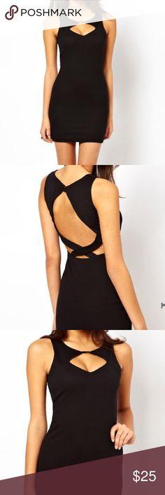 Asos petite dress Asos petite black dress size US4 never wore it ASOS Petite Dresses