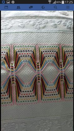 Huck Embroidery / Punto Yugosl
