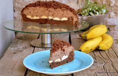 Mușuroi de cârtiță rețeta de tort cu banane, Nutella și mascarpone | Savori Urbane Nutella, Sweets Recipes, Desserts, Cacao Beans, Tiramisu, Sweet Tooth, Cheese, Cream, Ethnic Recipes