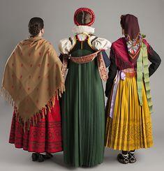 Extra1-3 Folk Clothing, Europe Fashion, Aragon, Angel, Regional, Costumes, Embroidery, Clothes, Dresses