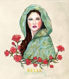 Once Upon A Time's Belle Fan Art