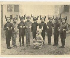 Vintage Easter Photo.