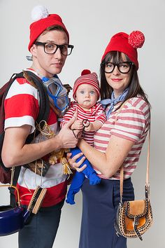 40 Super Cute Family Halloween Costumes. Diy DisfracesDisfraces ... 4128e782dae6