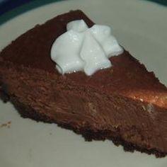 Makkelijke chocolade cheesecake @ allrecipes.nl