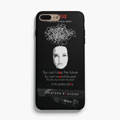 Thirteen Reasons ... is now available on #casesity here http://www.casesity.com/products/thirteen-reasons-why-quotes-iphone-case?utm_campaign=social_autopilot&utm_source=pin&utm_medium=pin