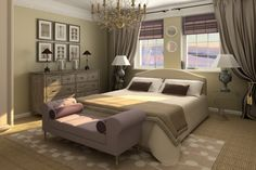 Modern Master Bedrooms | Home Design Ideas