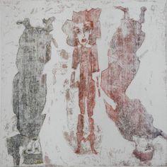 trois radierung etching gravure juttamarie