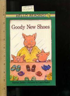 Ziefert Hariet Laura Rader Hello Reading Series Goody New Shoes Pig Story 0140543910 | eBay