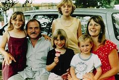 Kate Winslet and family 1979