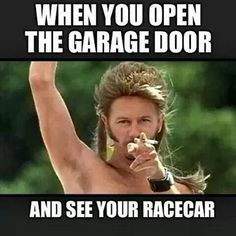 Hahah! except shop doors, not garage door lol