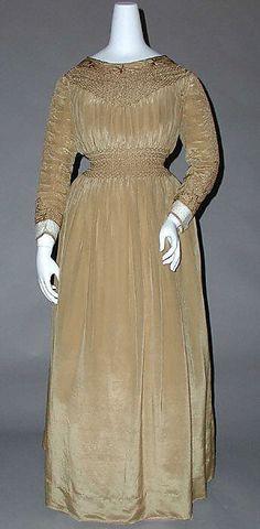 Dress  Liberty of London (British, founded 1875)  Date: 1890s Culture: British Medium: silk, linen, cotton