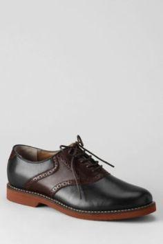 Men's Bass Burlington Saddle Oxford Shoes from Lands' End