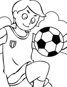 soccer coloring pages for boys